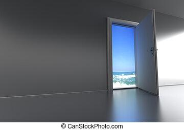 Door to the Beach