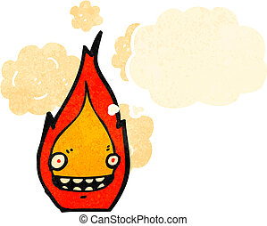 cartoon fire symbol