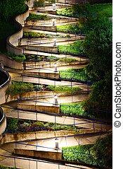 Zig Zag Walkway - Zig Zag walkway in Chattanooga, Tennesse