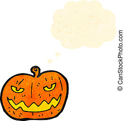 jack o lantern cartoon