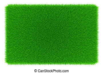 Green background - A square green background of growing...