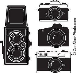 camera vintage camera vector - camera and Vintage Camera Set...