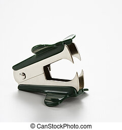 Staple remover. - Staple remover on white background.