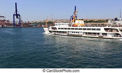 passenger ship 2 - passenger ship at istanbul