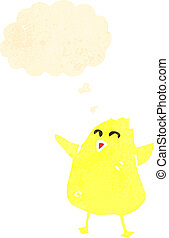 cartoon baby chick