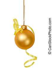 Christmas tree decoration - Isolated Christmas tree...