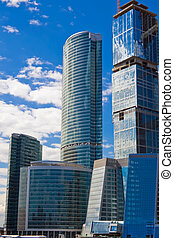 Business buildings - Skyscrapers of the International...