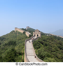 the great wall of China,an impregnable bulwark in beijing