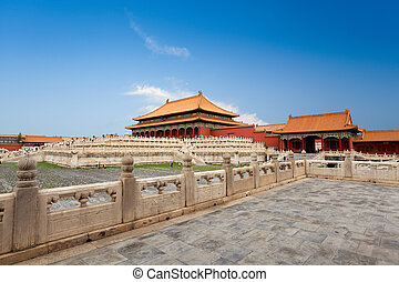 the forbidden city,imperial palace in beijing,China