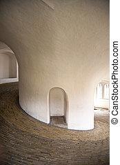 Spiral Gangway in a Tower