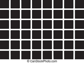black squares illusion