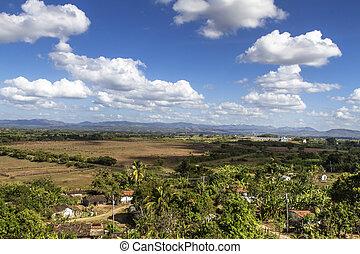 """""""Valle de los Ingenios"""" Valley on Cuba"""