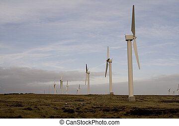 Windfarm Wind turbines Eco power