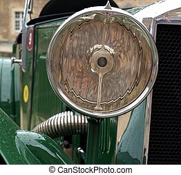 Oldtimer headlight - Headlight of a classic car