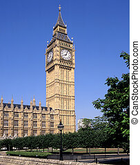 Big Ben London - Big Ben is the nickname for the great bell...