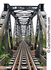 viaduct is the bridge which the train use to across river