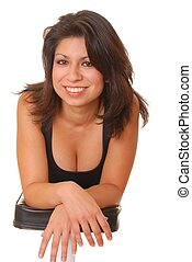 Health and Fitness Girl 1 - Beautiful young latina lady...