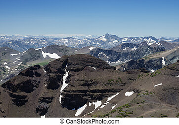 Sierra Nevada Mountain Landscape - Sierra Nevada mountain...