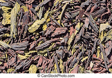 Shredded Rubber Background - shredded rubber for playground...