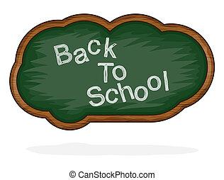 Blackboard Back to School cloud