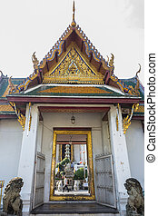 Wat Suthat Thailand  - Wat Suthat in bangkok, Thailand