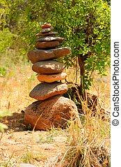 zen, pietre