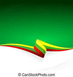 Yellow green red - Abstract color vector background...