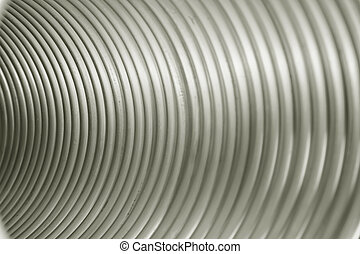 Copper texture - Seamless striped background, composed of...
