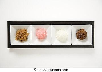 Granitas dessert.