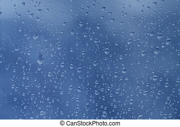 Waterdrops as background