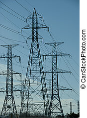 Hydro Towers - Hydro power grid towers