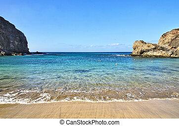 Playa Papagayo - Scenic view of Playa Papagayo beach...