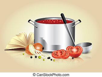 kulinarny, Chorągiew