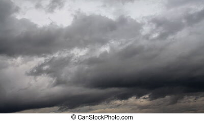 Sky and clouds - Grey cloudsMotion cloud