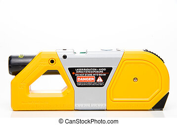 Laser Level - A Laser Level used in the construction...
