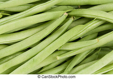Green Bean close up for background
