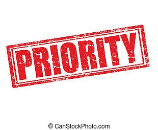 Priority-stamp