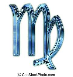 Virgo, zodíaco, símbolo