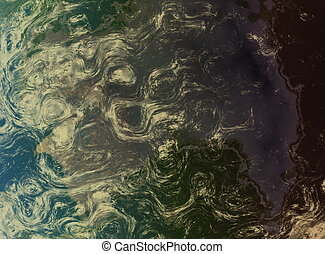 Fractal Planet from Space