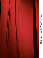 red stage curtain - dark red stage curtain closed for...
