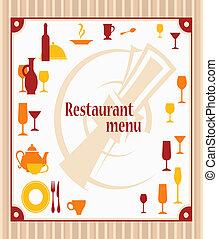 Cover of restaurant menu
