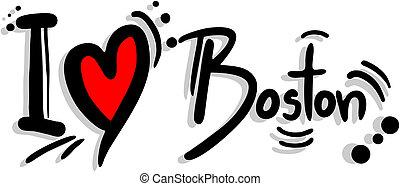Boston love - Creative design of boston love