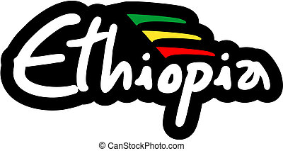 Ethiopia icon - Creative design of ethiopia icon