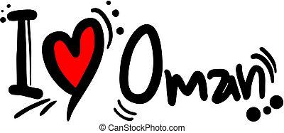 Love oman - Creative design of love oman