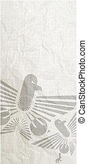 Eagle banner - Creative design of eagle banner