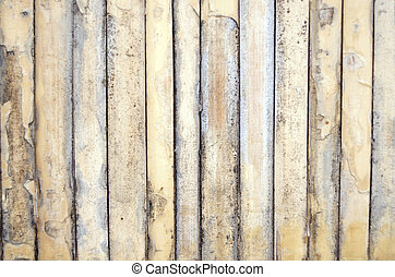Bamboo Background - Vertical running bamboo slats all in a...