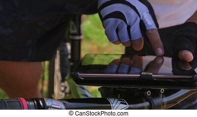 digital tablet for GPS navigation
