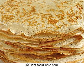 pancakes pile fragment