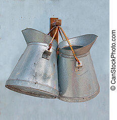 Old watering can  - Old watering can