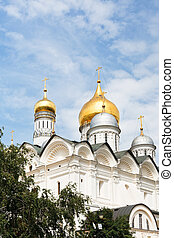 Cathedral of the Archangel in Moscow Kremlin